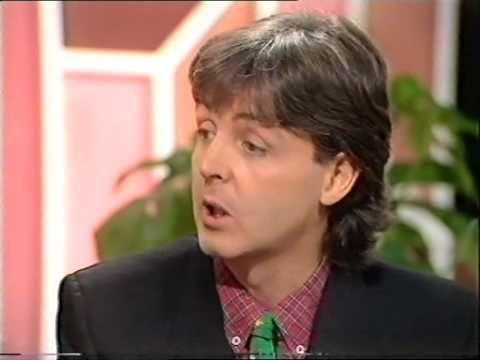 Paul & Linda McCartney on The Late Late Breakfast Show