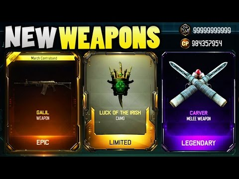 LIVE SUPPLY DROP OPENING!! NEW BO3 WEAPONS!! (BLACK OPS 3)