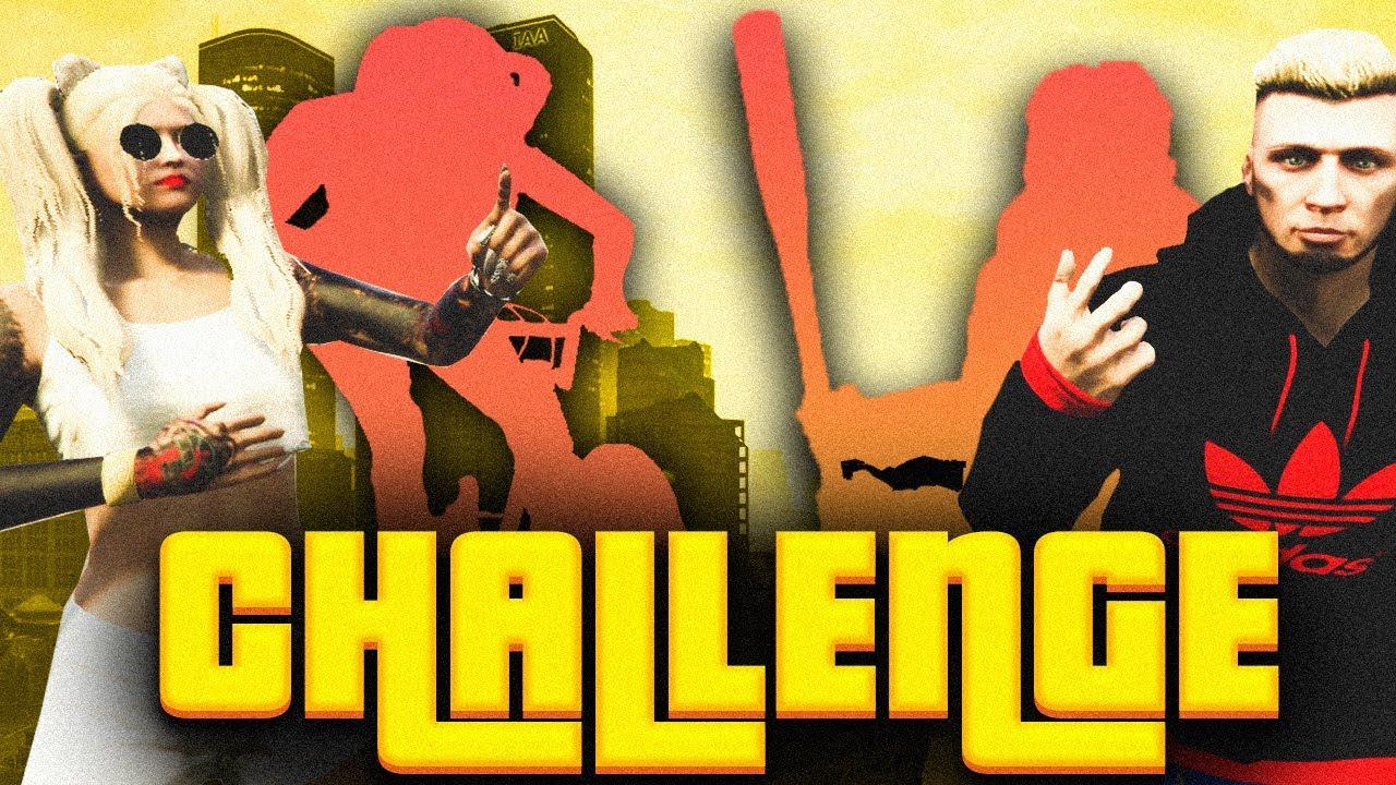 GTA V CHALLENGE - NIE DALI RADY WYZWANIOM! 🤑