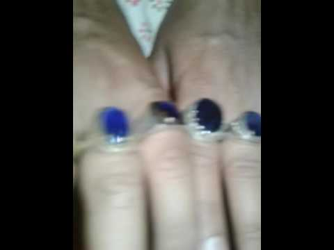 My blue sapphire rings collection