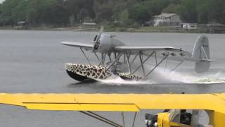 Sikorski S-39 Flying Boat Water Takeoff