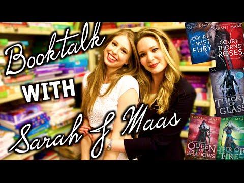 BOOKTALK WITH SARAH J MAAS