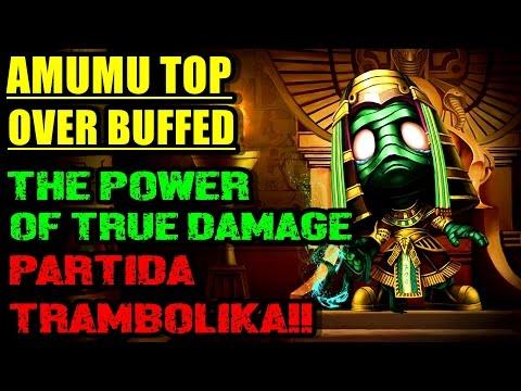 AMUMU OVER BUFFED TOP!! LA COSA MAS ROTA DEL JUEGO!! RITO PLZ