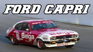 Ford Capri 3.0 V6 group A Zolder 2015 test