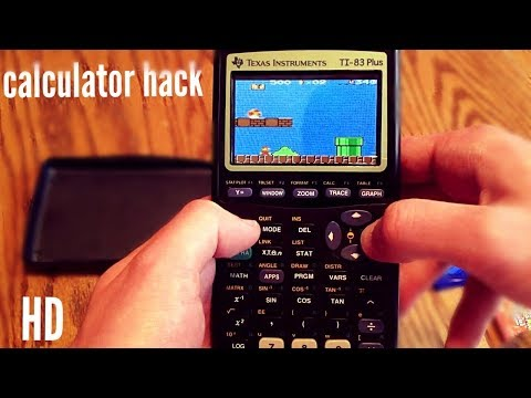 HOW TO HACK A CALCULATOR | PLAY ANY GAMES OR CALL 2018