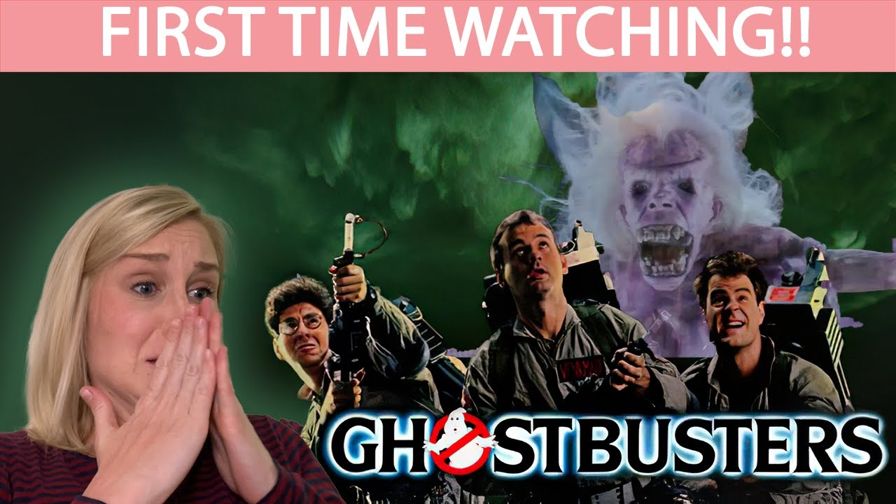 FIRST TIME WATCHING   GHOSTBUSTERS (1984)   MOVIE REACTION