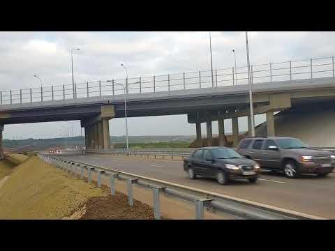 Открытие автомобильного движения, Крымский Мост.
