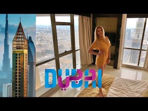 GEVORA Hotel DUBAI Room Review - The Tallest Hotel In The World