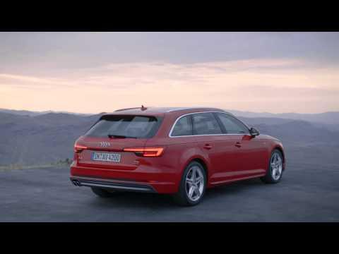 Audi A4 (B9) Avant Footage