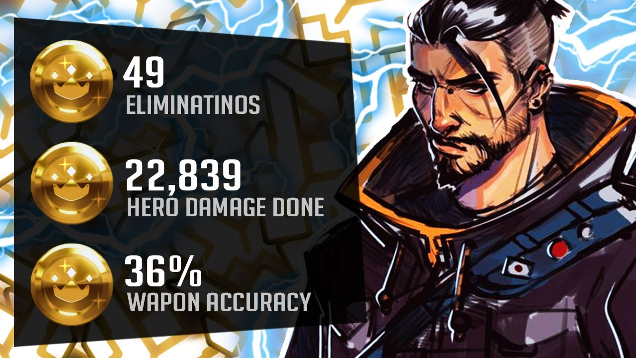 Arrge Best Hanzo in the World?! 49 elims! [ Overwatch Season 26 Top 500 ]