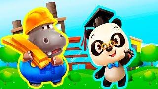 Город Доктора Панды и увлекательное строительство - Обзор развивающего приложения для детей