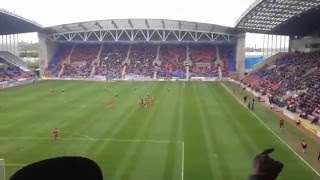 Wolves Fans at Wigan - Who the Fuck is Laughing now! - 25/04/15