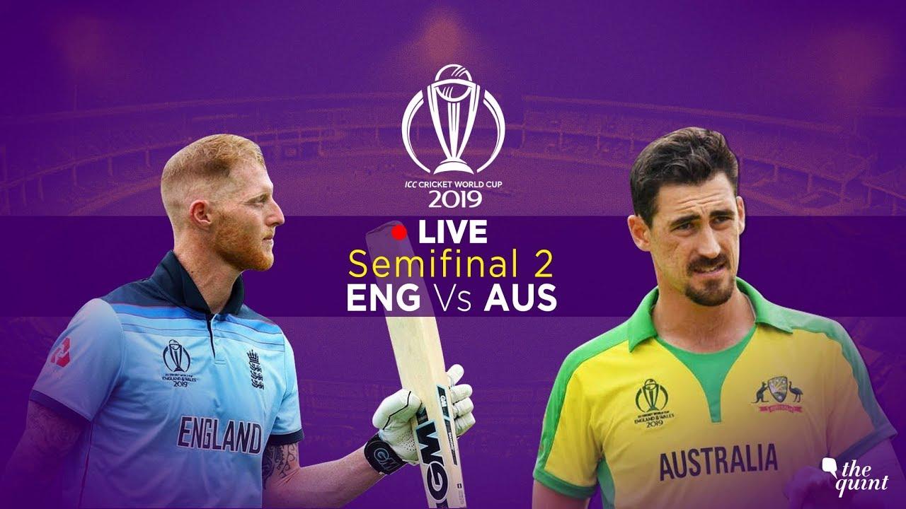 Cricket World Cup 2019 semi-final LIVE: Australia vs England