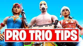 How To Dominate Trİos in Season 3! - Tips For Trio Arena / Tournaments - Fortnite Tips & Tricks