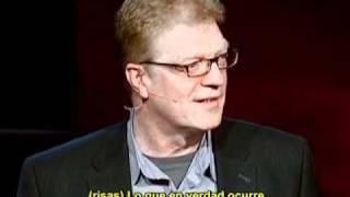 Ken Robinson dice que las escuelas matan la creatividad (subtitulos español)