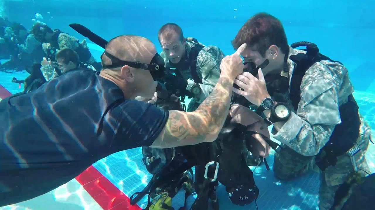 US Army Special Forces Underwater Operations School