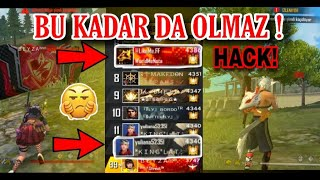 KÜRESEL SIRALAMASINDA HİLELER! | GarenaHacked | FreeFireTR
