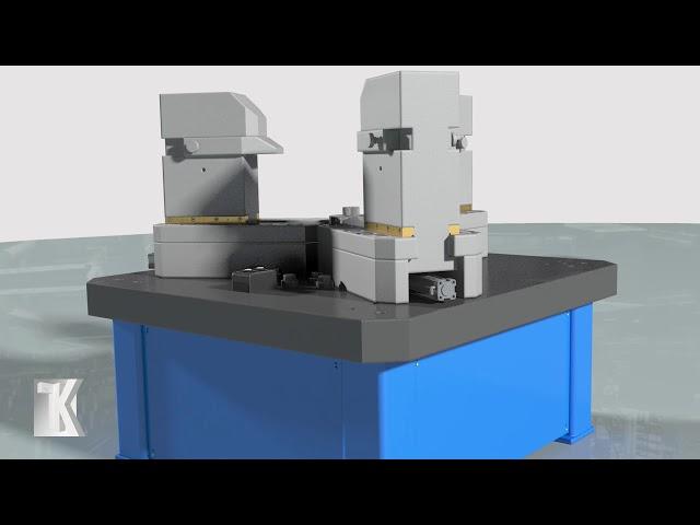 Вертикальный стенд для испытаний ТБА. Компания