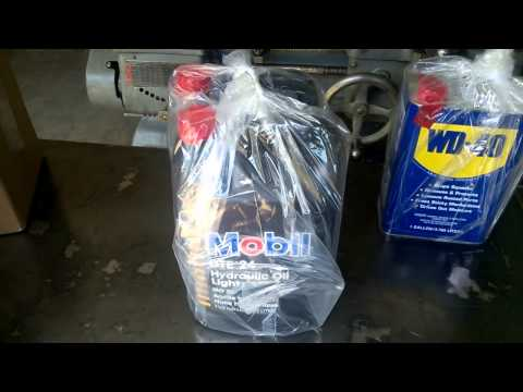 Santa (UPS) Came Early, Mobil Lubricants for South Bend Lathes
