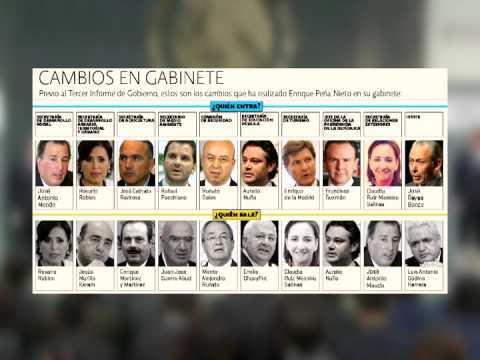 Anuncia Enrique Peña Nieto cambios en el Gabinete Presidencial