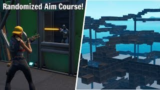 Randomized Shotgun Aim & Edit Course! (Fortnite Creative Course!)