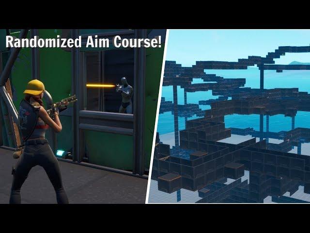 fortnite aim course console