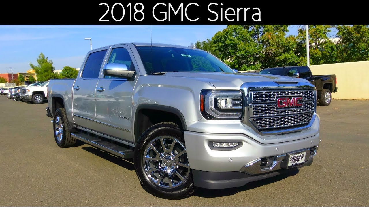 2018 gmc sierra 1500 denali best new cars for 2018. Black Bedroom Furniture Sets. Home Design Ideas