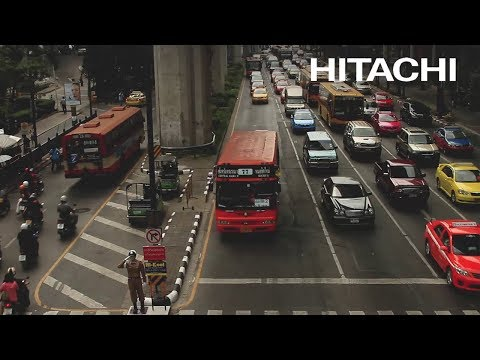 How bad is the traffic congestion in Bangkok? - Hitachi