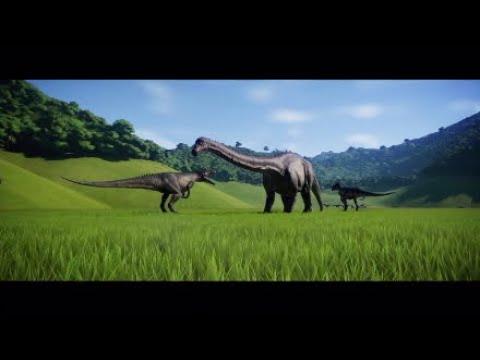Jurassic World Evolution - Walking With Dinosaurs Big Al Battle Of The Salt Plains
