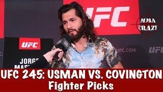 UFC 245: Kamaru Usman vs. Colby Covington Fighter Picks