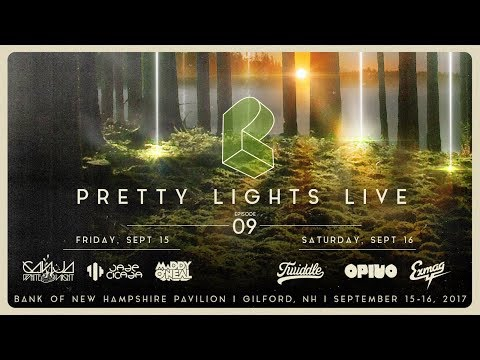 Pretty Lights Live @ Bank of New Hampshire Pavilion - Gilford, NH - 09/15/17