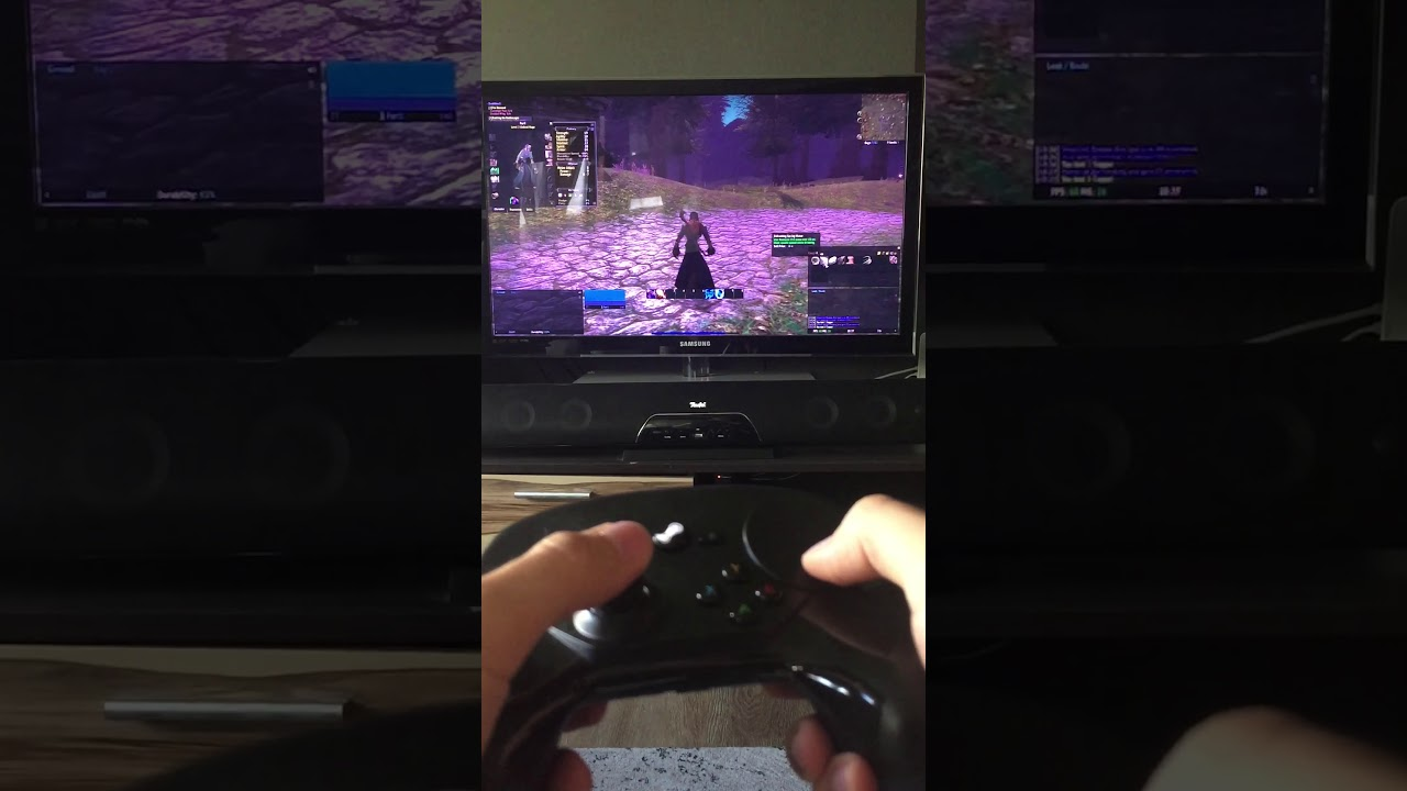 Classic WoW with Steam Controller