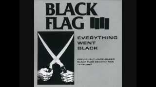 """Black Flag - """"No Values"""""""