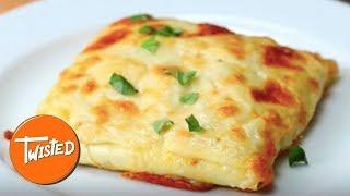How To Make Lasagna Pockets | Stuffed Lasagna Recipes | Pasta Twists | Twisted