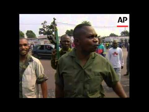 CONGO: KINSHASA: MOBS PREY UPON CAPTURED REBELS