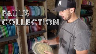 Checking out Paul McBeth's Disc Collection