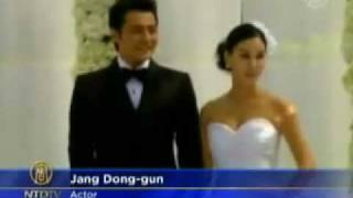 Jang Dong-gun & Ko So-young lavish wedding: South Korean Celebrity Couple Ties the Knot - NTDTV.com