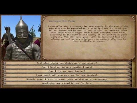 прохождение игры Mount And Blade: Warnand (Wind Of The War New Era)ч.2