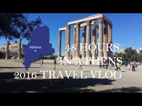 ATHENS GREECE TRAVEL VLOG   OCTOBER 2016