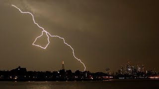 UK struck by lightning 20,000 times during overnight storm