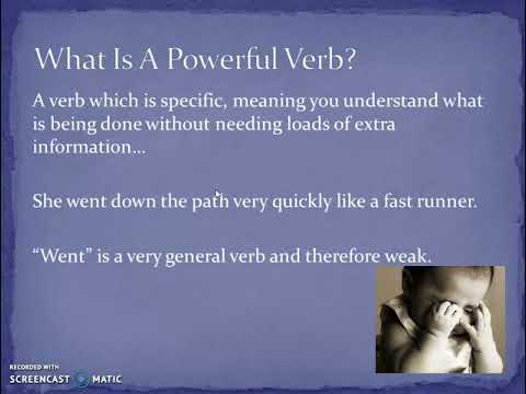 Powerful Verbs - YouTube - powerful verbs for resume