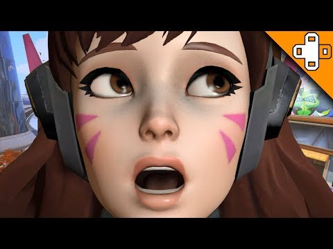 The Most SHOCKING D.Va Play EVER! Overwatch Funny & Epic Moments 694