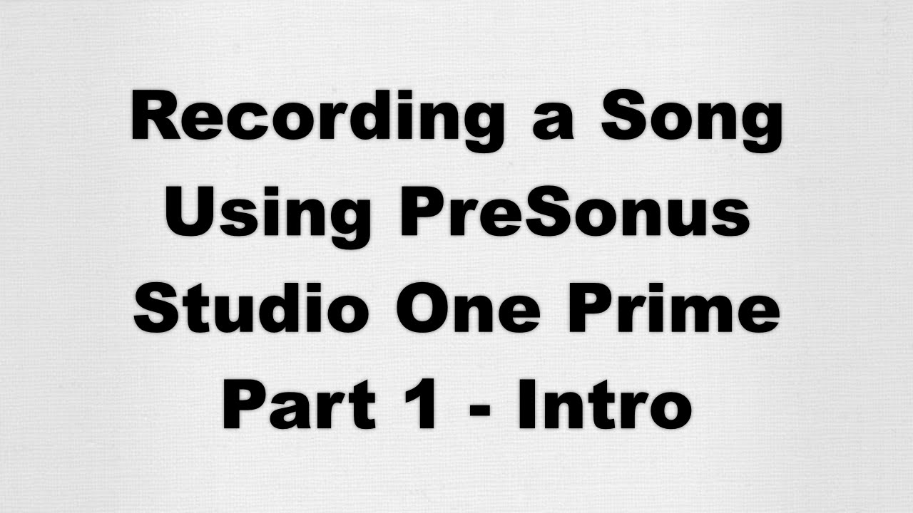 studio one recording software free download