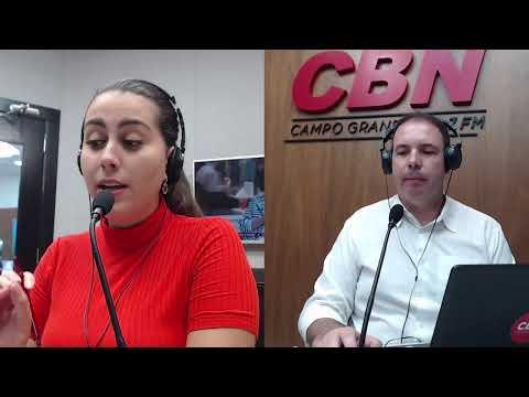 CBN Campo Grande (26/03/2020) - com Ginez Cesar e Ingrid Rocha