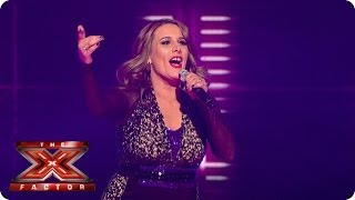 Sam Bailey sings How Will I Know by Whitney Houston - Live Week 8 - The X Factor 2013
