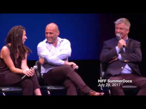 TROPHY: Alec Baldwin & Guests at Hamptons Film SummerDocs