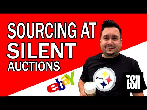 Sourcing at a Silent Auction for Ebay & Amazon Sales
