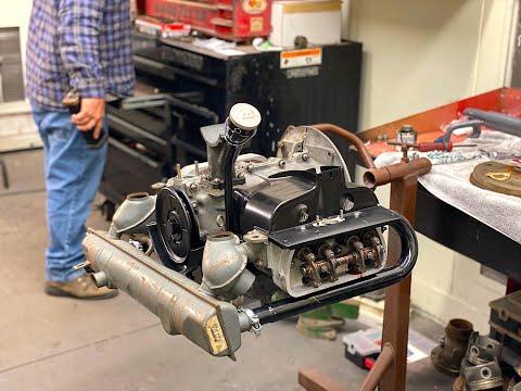 VW ENGINE Build Part (2) Restoration 40HP air-cooled Volkswagen engine, VW Bus, VW Kombi, VWDARRIN!!
