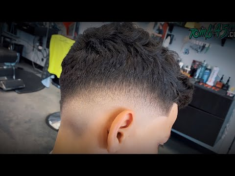clean-fade-haircut-on-12-year-old-boy!-barber-tutorial