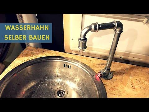 Sprinter Wohnmobil Selbstausbau: Bester Wasserhahn und neue Spüle